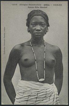 Jeune fille Ouolof