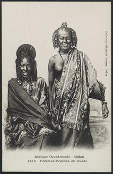 Femmes peulhes du Oualo