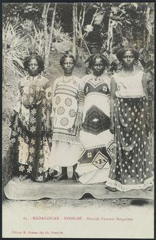 Beautés femmes malgaches