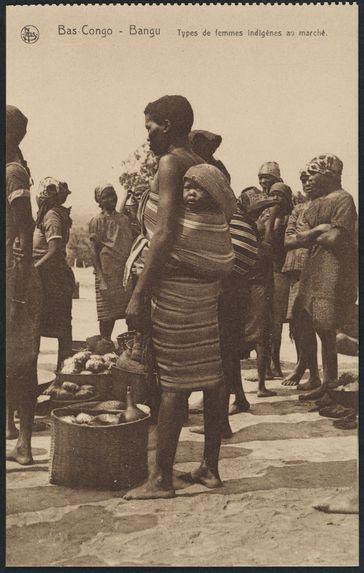 Types de femmes indigènes au marché