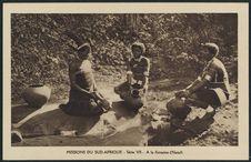 Missions du sud-Afrique- Série VII - A la fontaine (Natal)