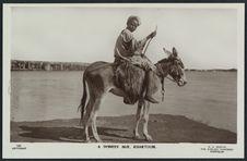 A donkey boy, Khartoum