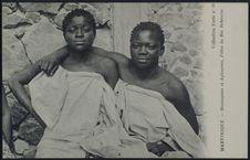 Mecougnon et Agbopano, filles du roi Behanzin