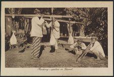 Renkong-spelers in Garoet