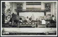 Puppet-show of Java (wajang koelit)