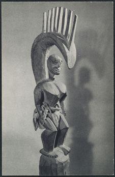 Sans titre [statuette en bois]