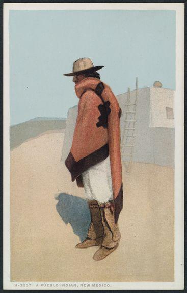 A Pueblo Indian, New Mexico