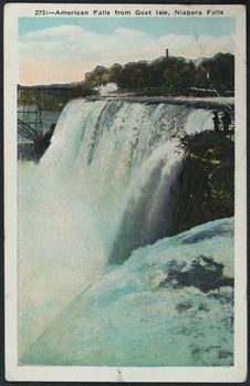 American falls from Goat Isle, Niagara Falls