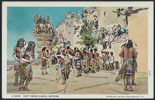 Hopi snake dance, Arizona