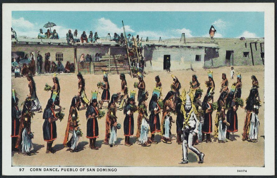 Corn Dance, Pueblo of San Domingo