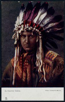 Le guerrier indien