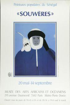 """Peintures populaires du Sénégal .""""souwères&quot"""