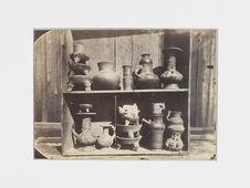 Popocatepl. Echantillons de vases