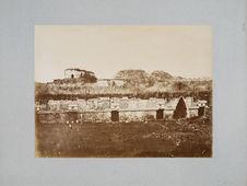 Vue générale des ruines à Uxmal