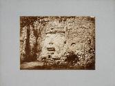 Figure gigantesque à Izamal au sud de la Grande Pyramide