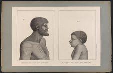 Homme et enfants du Cap de Diemen