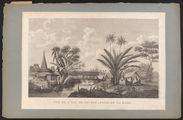 Vue de l'île de Bourou, prise de la rade
