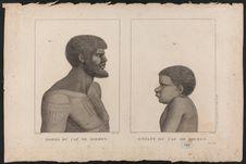 Homme et enfant du Cap de Diemen