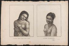 Femmes des îles des Amis et d'Amboine