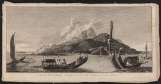 L'Isle d'Otahiti restant au S.E. à la distance d'une Lieue