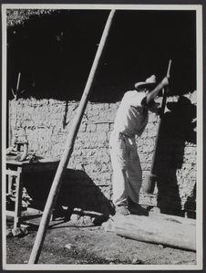 Sans titre [préparation au mortier pour la construction]