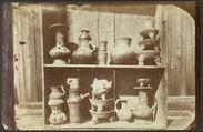 Popocatepetl. Echantillons de vases