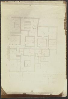 Tula. Plan de la 1ère maison toltèque