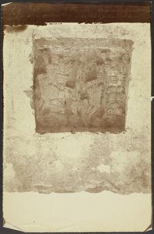 Tula. Bas-relief toltèque enclavé dans la muraille d'une maison