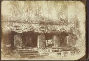 Palenque. Détail du palais intérieur
