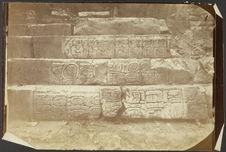 Palenque. Inscriptions sur les escaliers