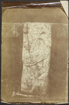 Palenque. Base de l'édifice central du palais