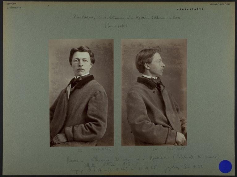 Léon Girtowitz.- 24 ans.- Lithuanien
