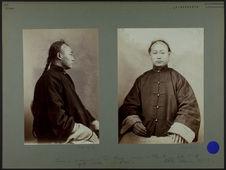 Chang-Kivo-an.- 20 ans.- Chinois. [De profil]