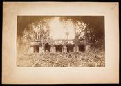Façade occidentale de l'aile intérieur du palais à Palenque