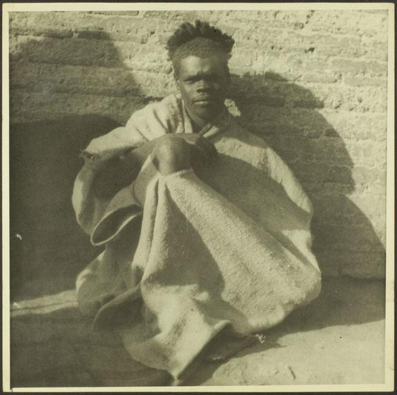 A Marrakech. Mendiant-nègre