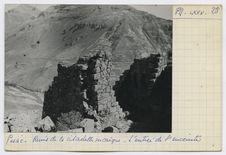 Ruines de la citadelle incaïque