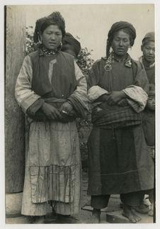 Femmes tibétaines du Haut-Mékong (Tibet oriental)