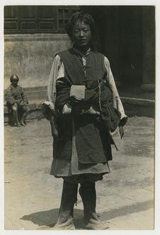 Costume de fête tibétain du Haut Mékong