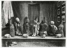 Exposition universelle, Paris. Momies boliviennes