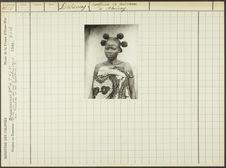 Dahomey. Coiffure de princesse à Abomey