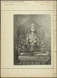 Statue de la déesse sans socle