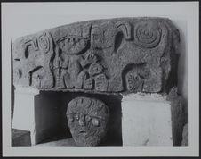 Musée Huaraz [gravure zoomorphe et anthropomorphe]