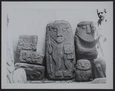 Musée Huaraz [gravures et sculptures anthropomorphes et zoomorphes]