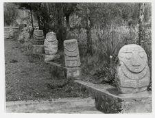 Sculptures du Musée de Huaraz