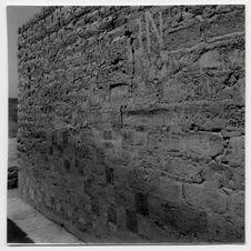 Paramonga. Deuxième mission (Jacques V.) : [pan de mur d'une construction du...