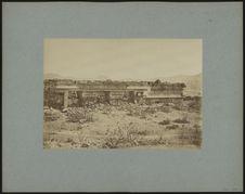 Quatrième palais à Mitla, façade occidentale