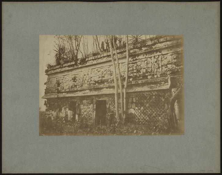 Palais des Nonnes à Chichen-Itza, côté nord