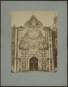Mexico, façade d'église
