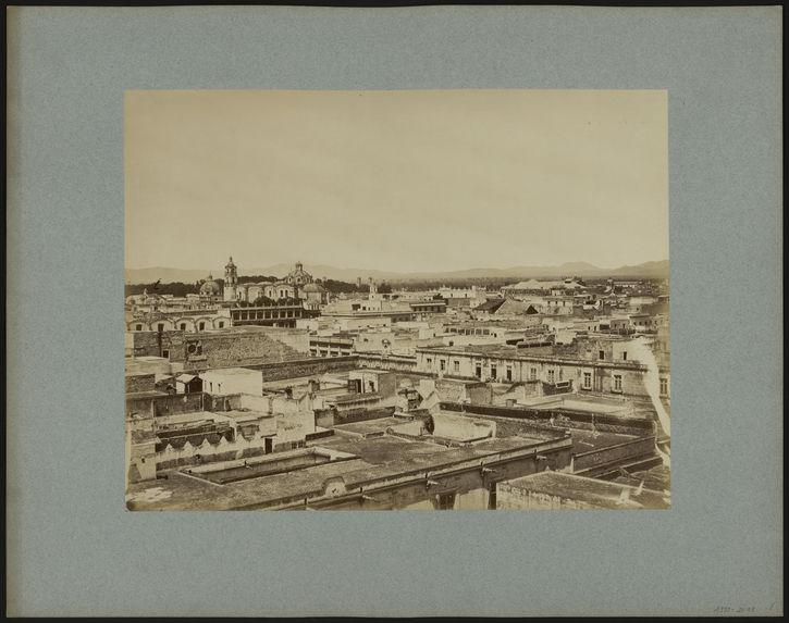 Panorama de Mexico en quatre clichés