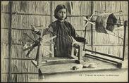 Travail de la soie